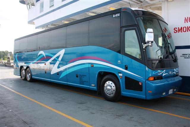 Henderson 50 Passenger Charter Bus